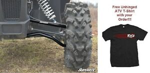 SuperATV Arctic Cat Wildcat Sport High Clearance A-Arms and FREE Unhinged Tshirt