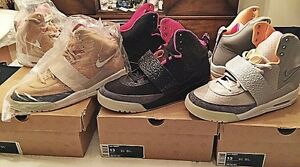 Nike Air Yeezy 1 Set Size 13 Black Pink Blink Zen Tan Jasper Don C