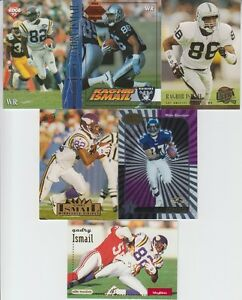 Qadry Ismail 6 Card Lot with Certified NM Condition $2.59