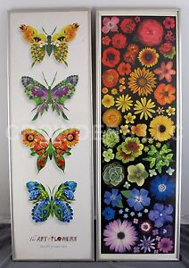 Portal Publications ARV101 Rainbow Flower & ARV120 Butterflies by Linda Maron 03