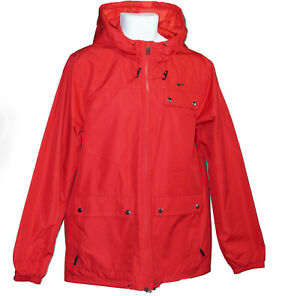 New Nike AD Athletic Dept Mens Storm Fit Stay Dry RAIN JACKET Red Medium
