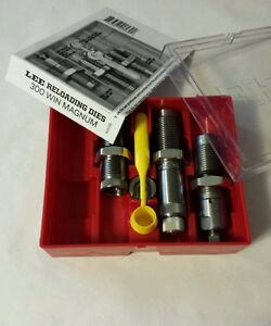 Lee Precision Pacesetter 3 die set for 300 Win Mag #90539 NIB