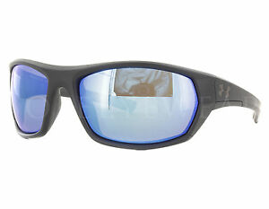 NEW Under Armour Power Brake Satin Black  Grey  Blue Multiflection Sunglasses