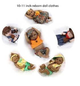 Fashion Cute Clothing For 10quot; 11quot; Reborn Baby Doll Boy Girl Toy Replace Clothes