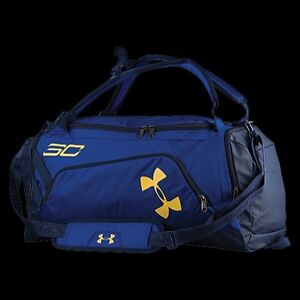 Brand New Under Armour SC30 Contain Backpack Curry RoyalMidnight NavyTaxi