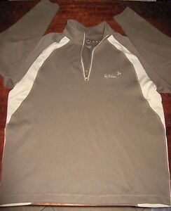 Nike Golf Nike Fit Dry Quarter Zip Dry Fit Pullover Shirt Men's Size Large
