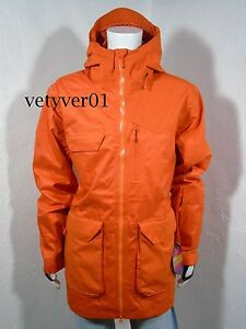 New UNDER ARMOUR UA Storm ColdGear Infrared Ghost Shell Jacket Orange size XL