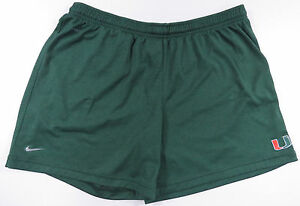 MIAMI HURRICANES NIKE FIT DRY YOUTH XL BASKETBALL GYM WORK OUT SHORTS EUC NCAA