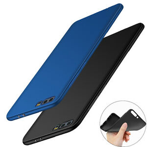 ShockProof 360 Silicone Matte Slim TPU Case Cover For Huawei P10 P8 P9 Lite 2017