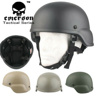 EMERSON ACH MICH 2000 Helmet Military Standard Padded Helmet Durable Combat Ge