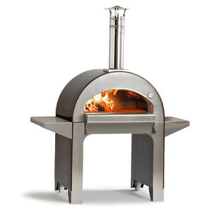 Forninox Brick Hearth Fully Insulated Outdoor Bread Baking Pizza Oven Wood Fired