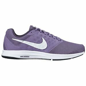Nike DOWNSHIFTER 7 Womens Purple Athletic Comfort Casual Running Sneakers Shoes