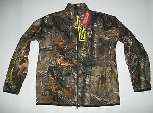 UNDER ARMOUR Realtree CAMO RUT ColdGear Infrared Hunting JACKET mens Size XL NEW