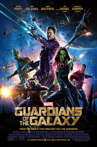 Posters USA - Marvel Guardians of the Galaxy Movie Poster Glossy Finish - FIL281