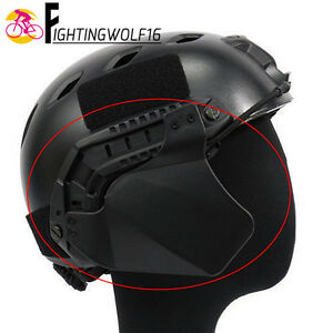 1 Pair Helmet Side Cover For FAST Helmet Rail Tactical Paintball Accessory Soft
