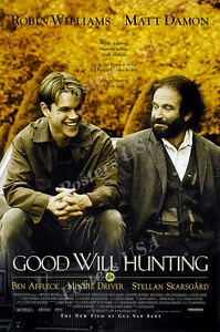Posters USA Good Will Hunting Movie Poster Glossy Finish MOV104