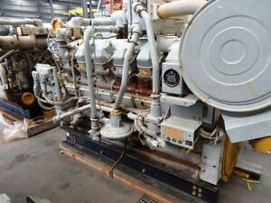 Used CAT G3512LE Gas Compression Engine Core-860HP