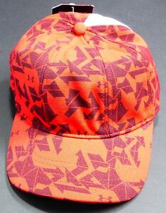 Under Armour INTENSITY B BALL CAP Hat UA BaseBall Workout HeatGear Stretch LG