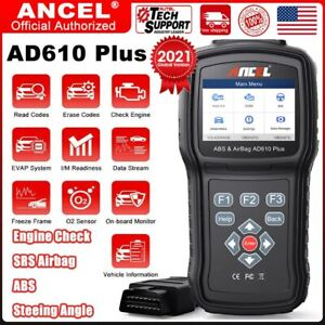 ABS Airbag SRS SAS Reset Engine Diagnostic Tool ANCEL AD610 Elite Auto Scanner