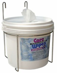 Care Wipes Wire Wipes Dispenser Wall Mount Powder Coated  Metal  2XL-55