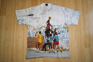 1999 VINTAGE NIKE AIR JORDAN PLAYGROUND T-SHIRT BRAND NEW WITH TAG  L