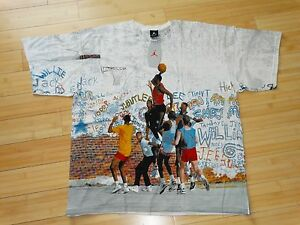 1999 VINTAGE NIKE AIR JORDAN PLAYGROUND T-SHIRT BRAND NEW WITH TAG XL