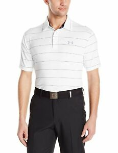 Under Armour Mens Playoff Polo WhiteAcademy Large