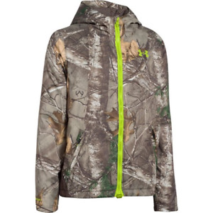 Youth Under Armour Coldgear Infrared Scent Control Hoodie - Realtree