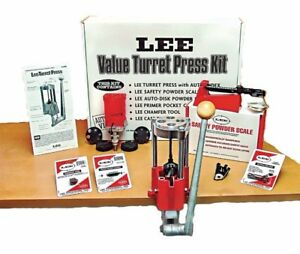 Lee Turret Press Kit 4 Hole Ammo Reloading Kit Press Steel And Cast Iron