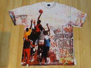 VINTAGE 2005 NIKE AIR JORDAN PLAYGROUND MENS SHIRT XL NEW WITHOUT TAGS