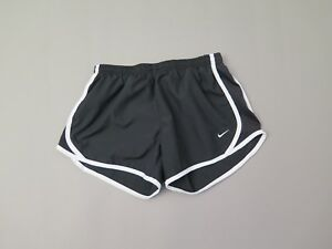 NIKE GIRLS's Dry-FIT BLACK TEMPO RUNNING SHORTS LARGE