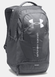 Under Armour Hustle 3.0 Backpack - 1294720-040 - GRAPHITE  GRAPHITE