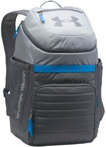 Brand New Under Armour Undeniable School Backpack 3.0 GrayGraphiteMako Blue