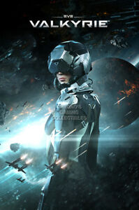 RGC Huge Poster Eve Valkyrie PS4 GLOSSY FINISH OTH648 $15.95