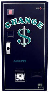 AMERICAN CHANGER -  LARGE CAPACITY BILL CHANGER - FRONT LOAD - AC2009
