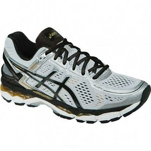 NEW Men's Gel-Kayano 22  Sz 9 Silver w Black Gold  T547N-9390 (No Box) ~C