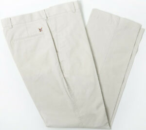 Oxford Sheffield Flat Front Pant Stone 38x34
