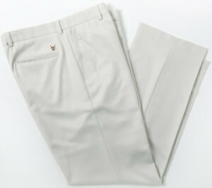 Oxford Sheffield Flat Front Pant Stone 34x32