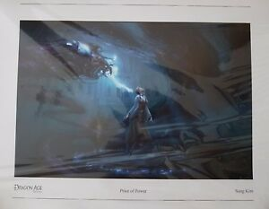 Dragon Age Origins Price of Power Lithograph