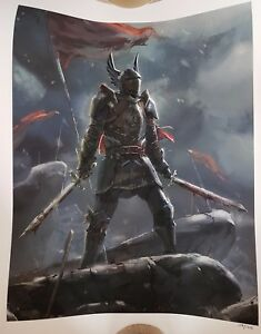 Dragon Age 'Grey Warden Commander' Giclee (Lithograph)