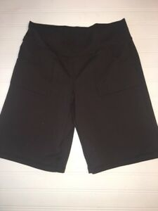 ZELLA Womens size 2 athletic brown shorts YOGA fitness Spandex Blend