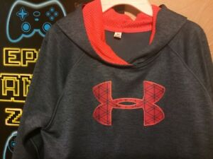 Boys Under Armour hooded sweatshirt EUC ~ Size LXL Nice