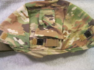 ACH MICH ARMY COMBAT HELMET COVER MULTICAM SM MED NVG FLAP IR TABS