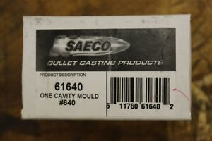 Saeco Magnum Bullet Mold #640 40 Caliber (408-410 Diameter) Mold with Handles
