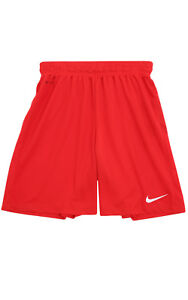 Nike Park II Shorts without liner trousers Children sportshort Training Red
