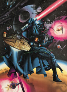 STAR WARS KEN STEACY SIGNED LIMITED EDITION LITHOGRAPH - RARE PUBLISHER PROOF !!