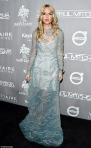 SALE!! NWT VALENTINO Tulle Embellished Pale Blue Gown 426  $28000