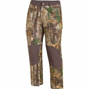 Under Armour WindStopper Camo Hunting Pants Storm2 Gore-Tex Scent Control L $260