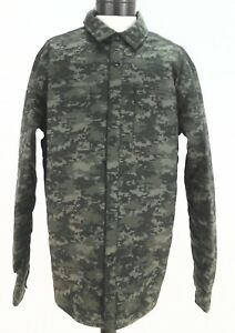 Under Armour Mens 1261147 357 Primaloft Insulation Camo Shirt Jacket $199