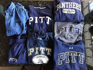 7 XL XXL UNIV PITTSBURGH Panthers Hoodies Sweatshirts Shirts Pants Under Armour